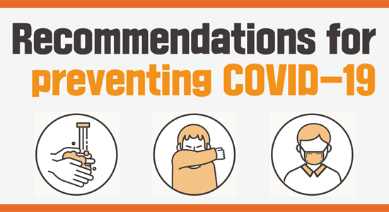 Recommendations for preventing COVID-19